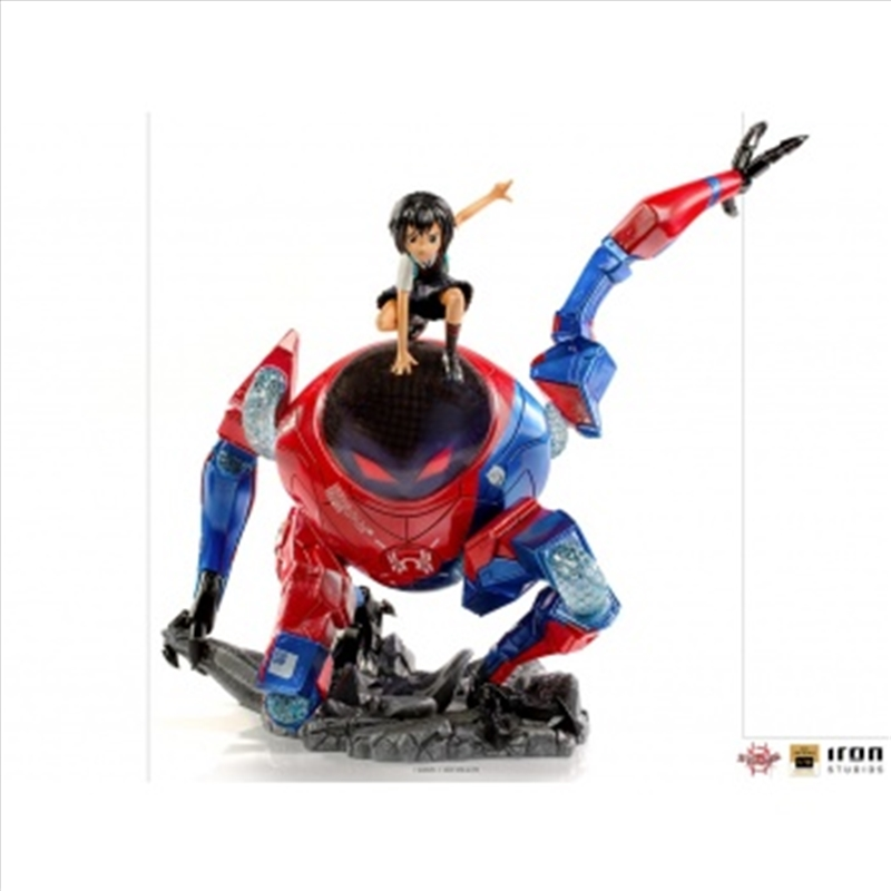 Spider-Man: Into the Spider-Verse - Peni Parker & SP//dr Deluxe 1:10 Scale Statue | Merchandise