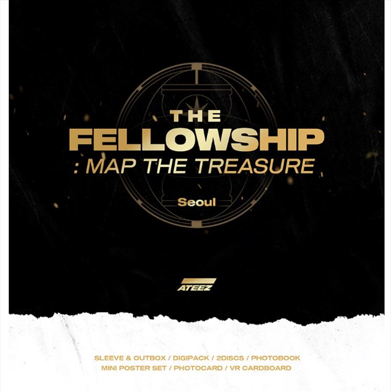 Fellowship - Map The Treasure Seoul | DVD
