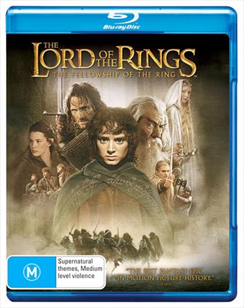 Lord Of The Rings - The Fellowship Of The Ring, The | Blu-ray