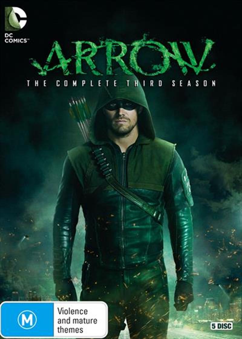 Arrow - Season 3   DVD