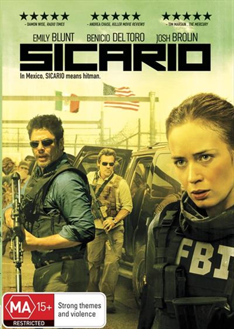 Sicario | DVD