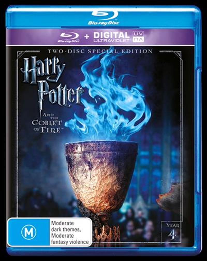 Harry Potter And The Goblet Of Fire - Limited Edition | UV - Year 4 | Blu-ray