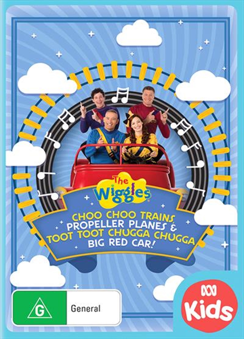 Wiggles - Trains, Planes and Car, The | DVD