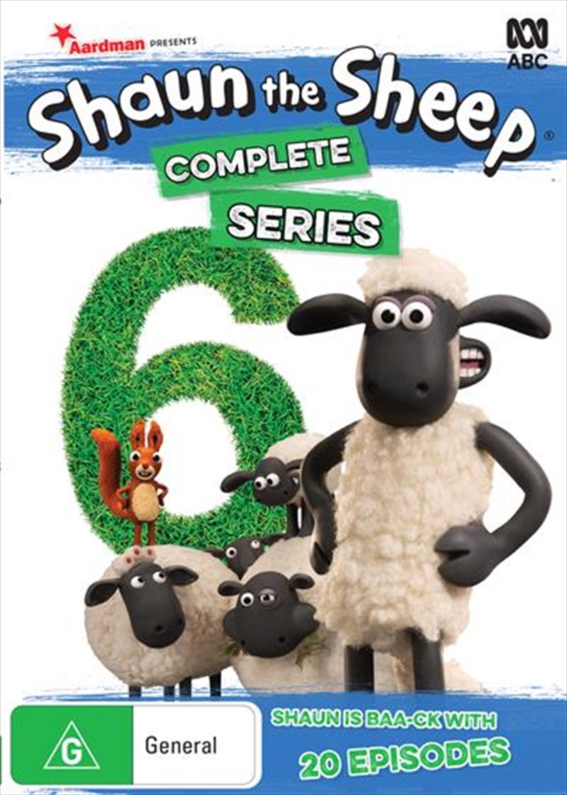 Shaun The Sheep - Season 6 | DVD