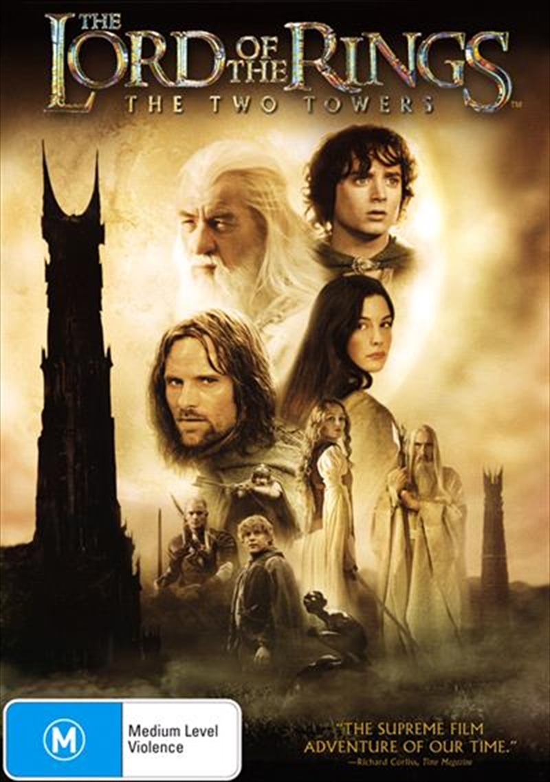 Lord Of The Rings - The Two Towers, The | DVD