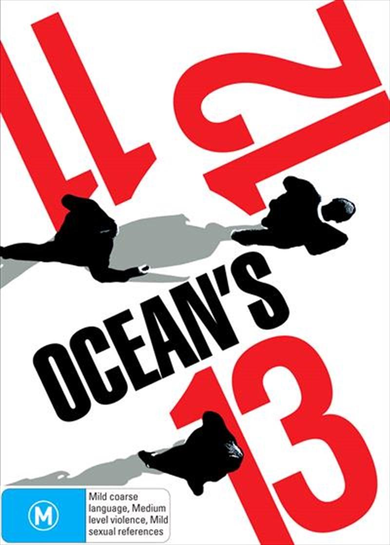 Ocean's Trilogy - Ocean's Eleven / Ocean's Twelve / Ocean's Thirteen | DVD