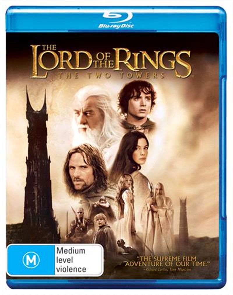 Lord Of The Rings - The Two Towers, The | Blu-ray