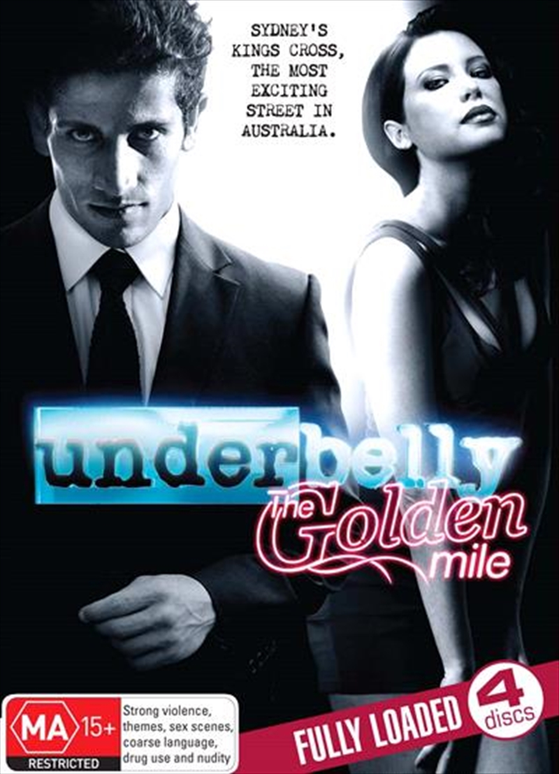 Underbelly - The Golden Mile   DVD