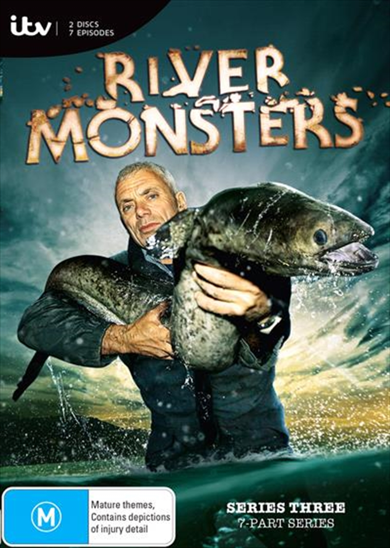 River Monsters - Season 3 | DVD