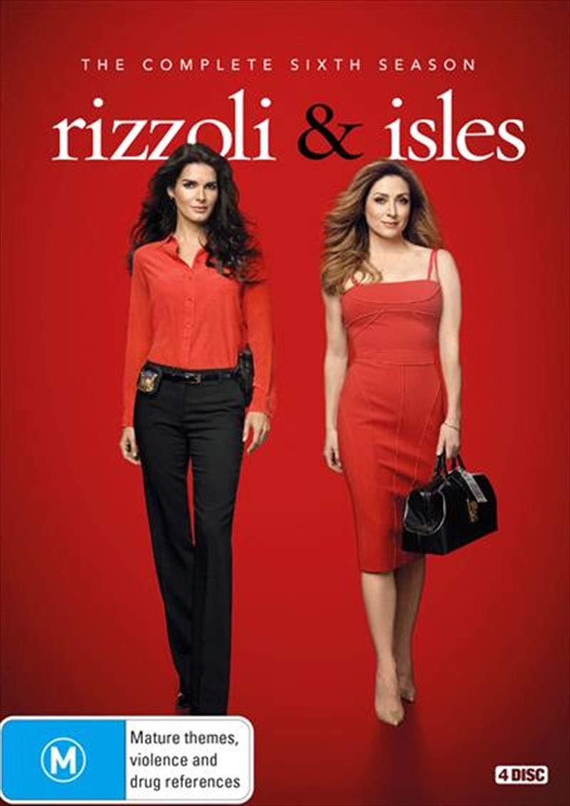 Rizzoli and Isles - Season 6 | DVD