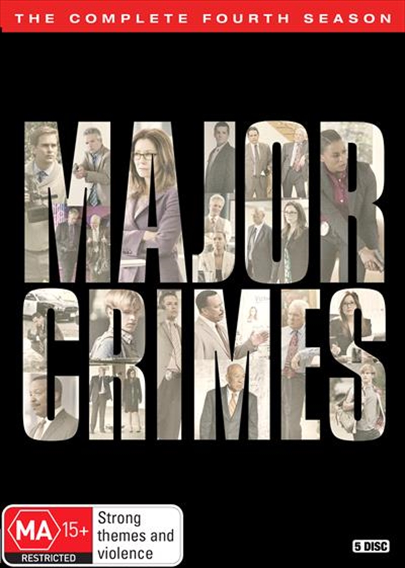 Major Crimes - Season 4 | DVD
