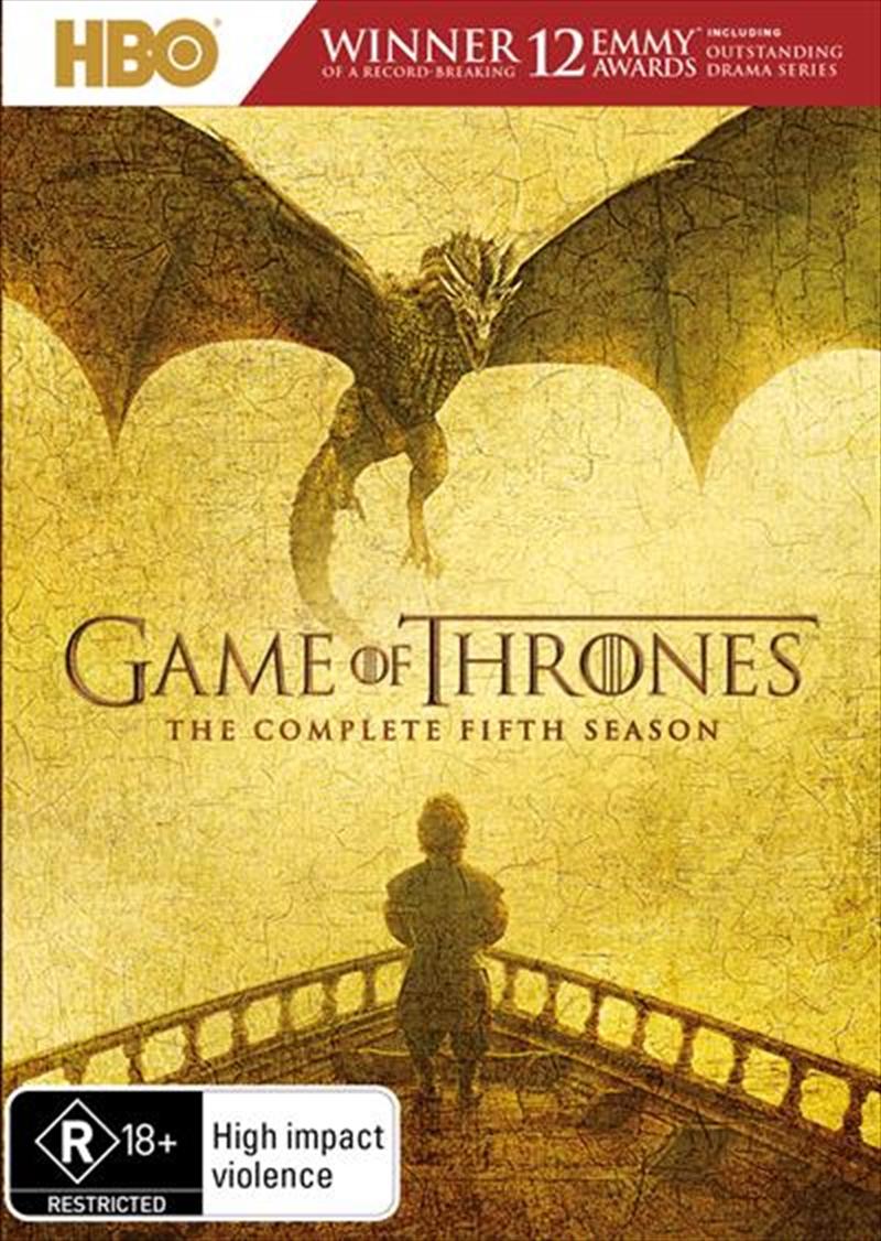 Game Of Thrones - Season 5 | DVD