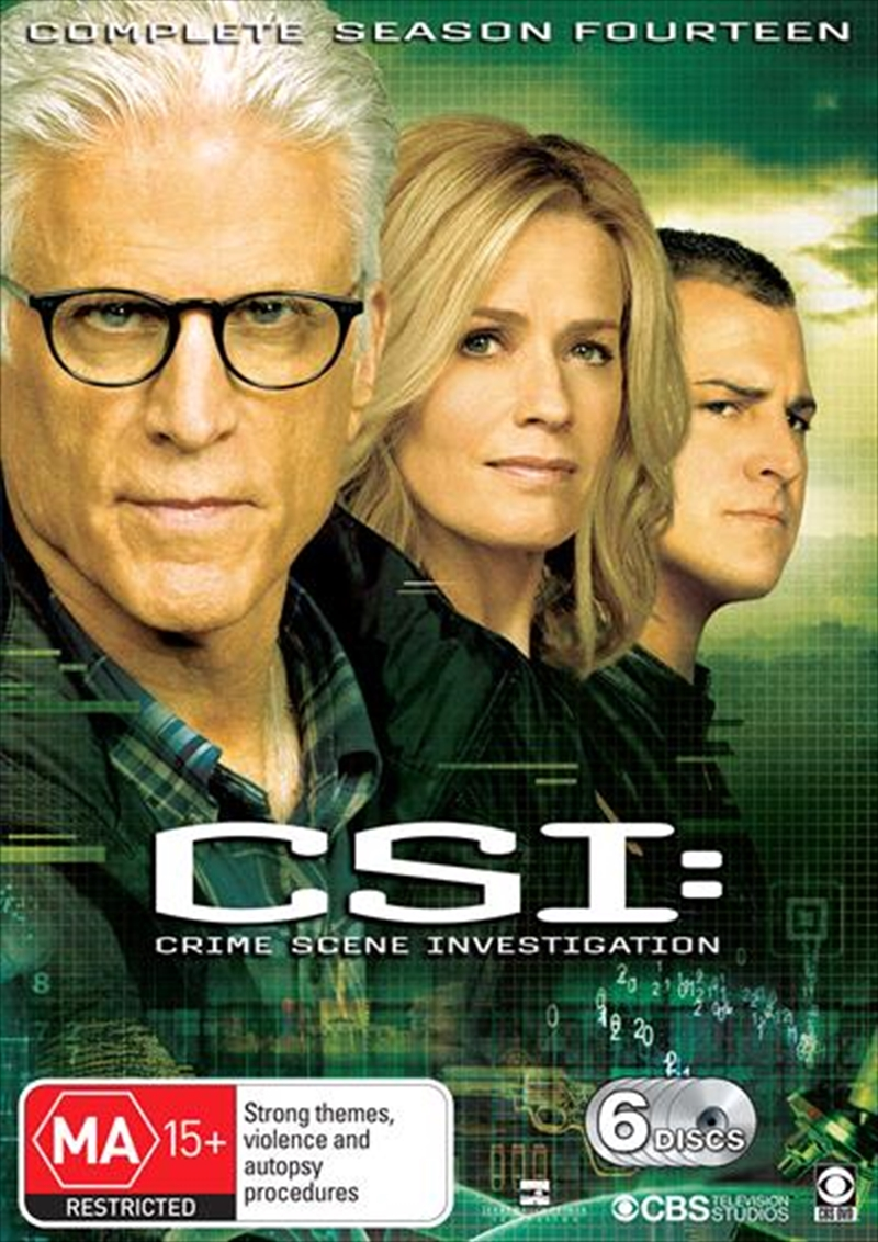 CSI - Crime Scene Investigation - Series 14 | Boxset | DVD