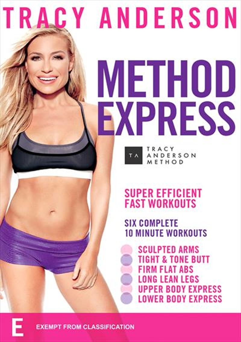 Tracy Anderson - Method Express | DVD