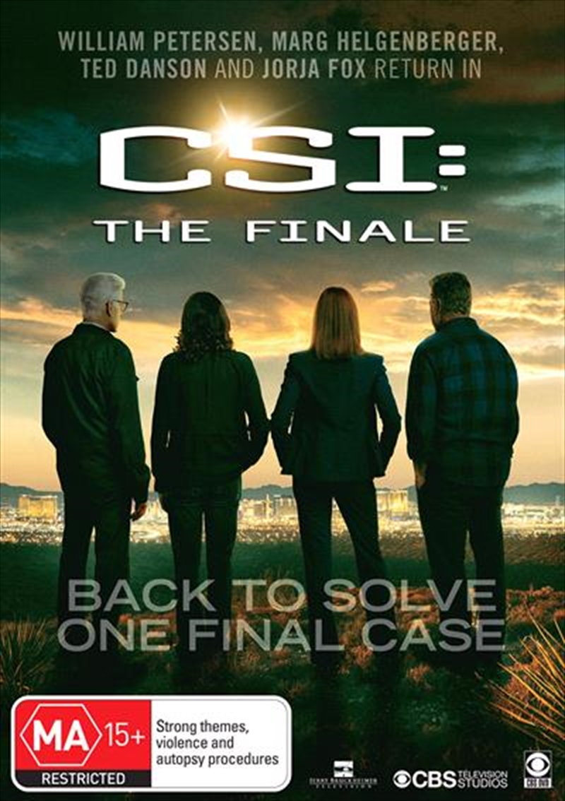 CSI - Crime Scene Investigation | The Finale | DVD