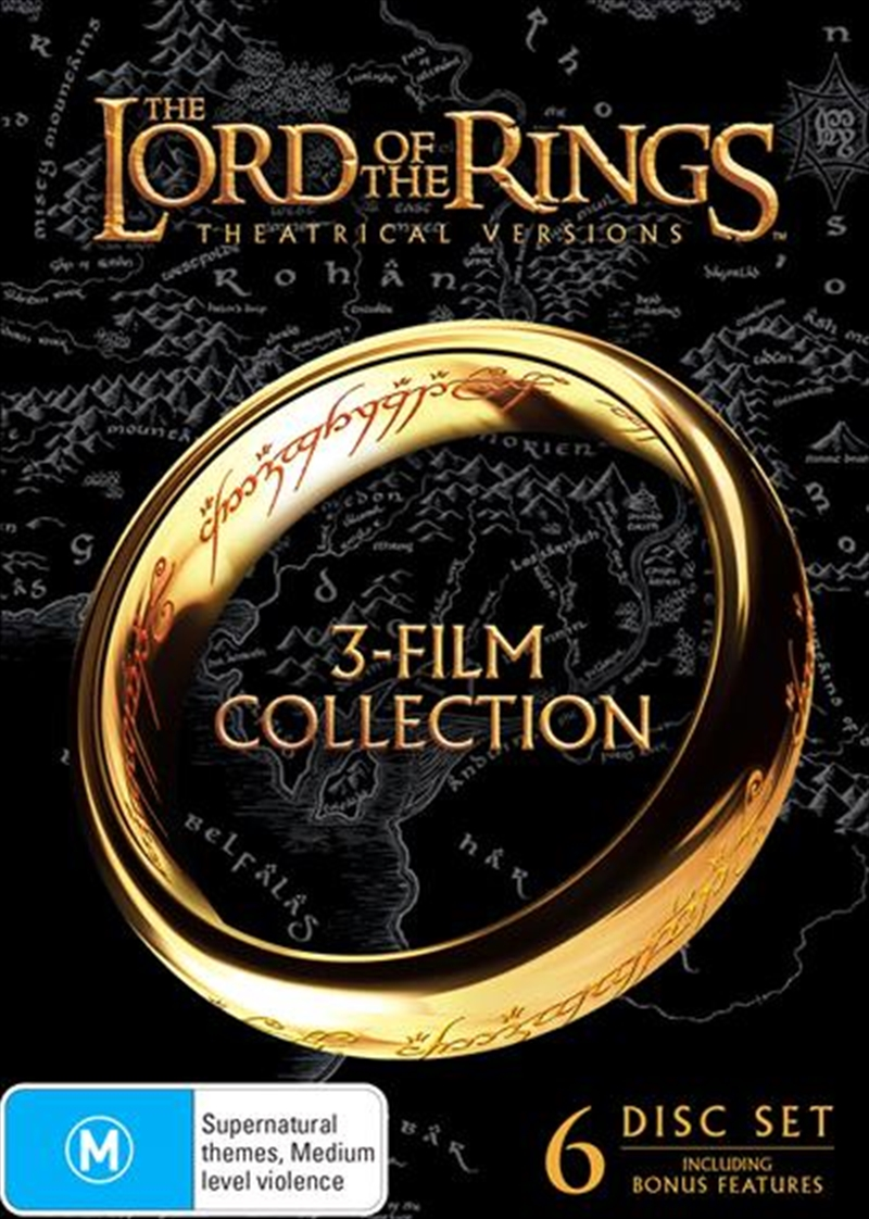 Lord Of The Rings Trilogy | Boxset, The | DVD