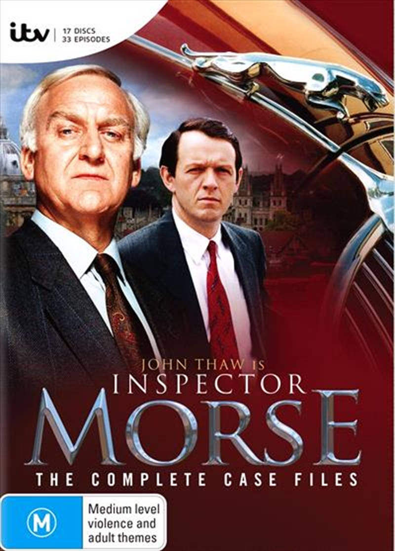 Inspector Morse - The Complete Case Files | DVD