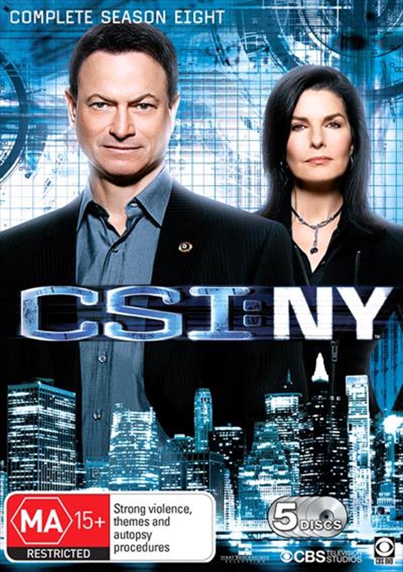 CSI NY - Season 8 | DVD