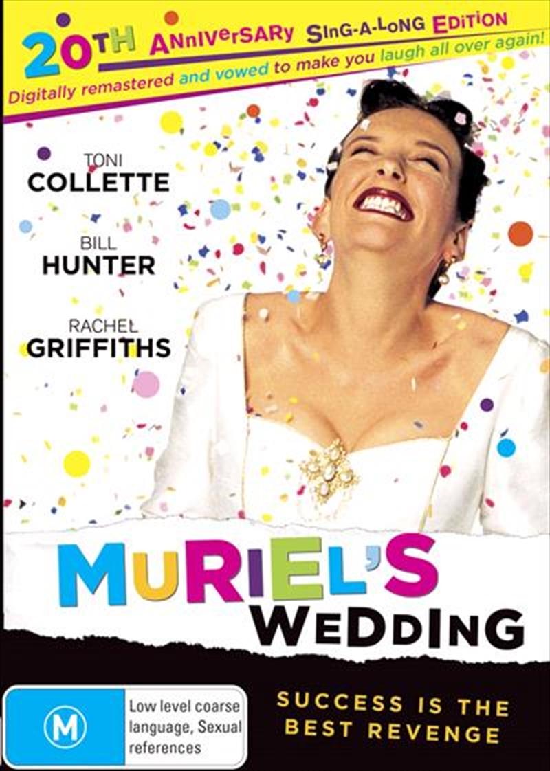 Muriel's Wedding - 20th Anniversary Edition | DVD