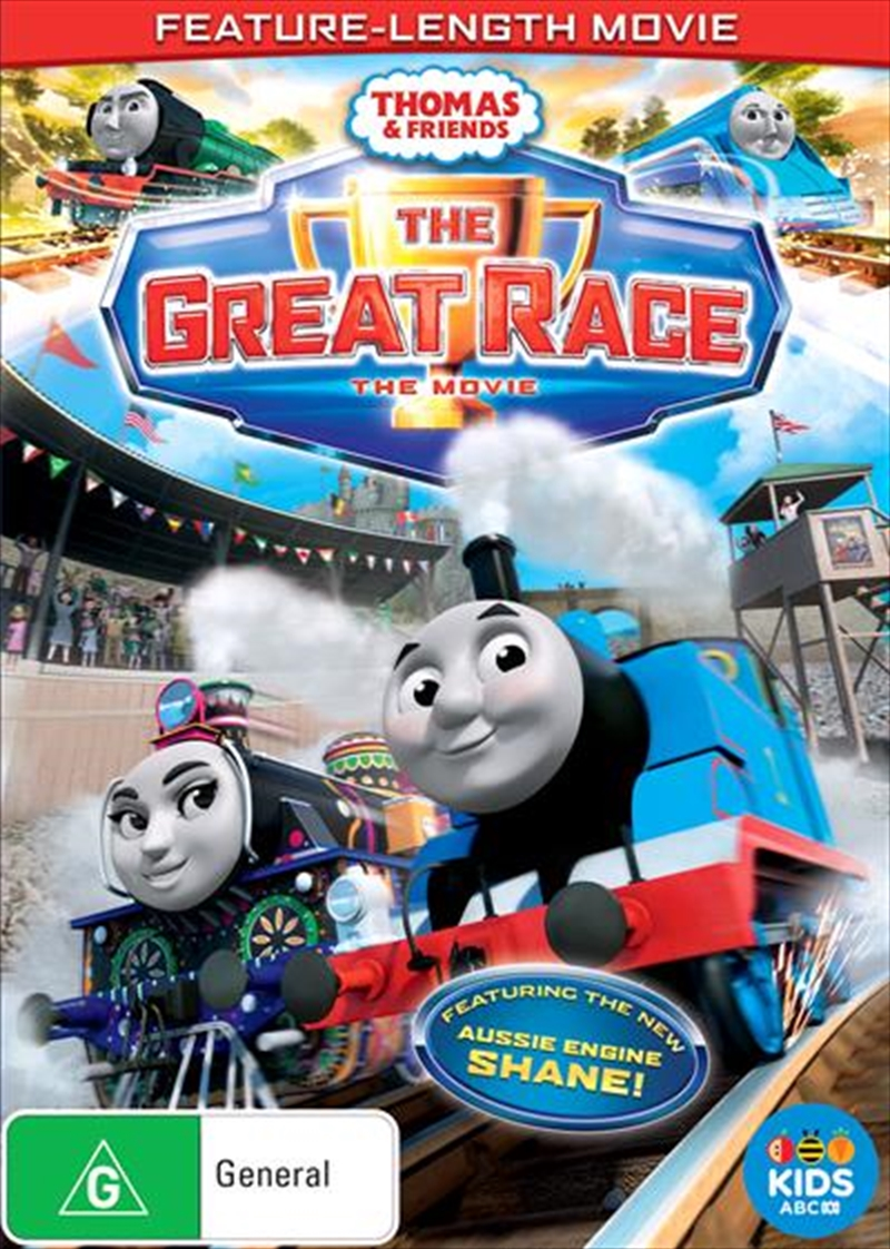 Thomas and Friends - The Great Race | DVD