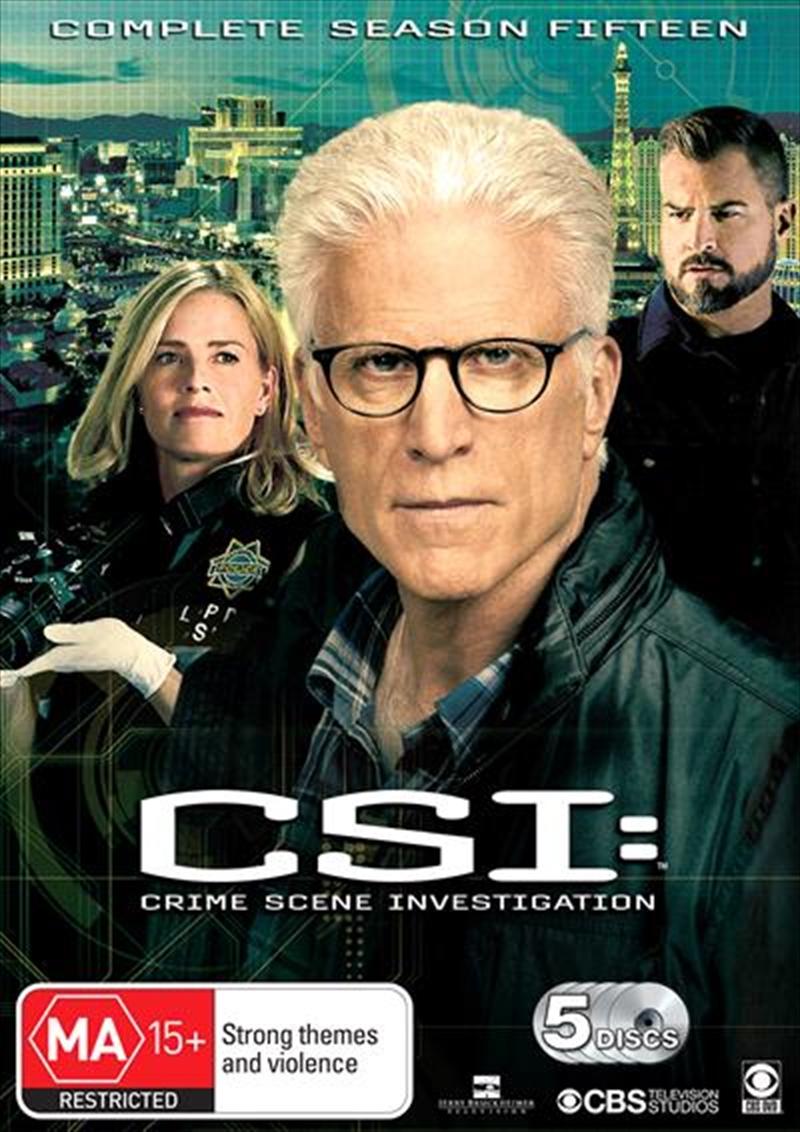 CSI - Crime Scene Investigation - Series 15 | DVD