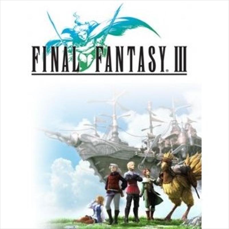 Final Fantasy 3 - Four Souls | Vinyl