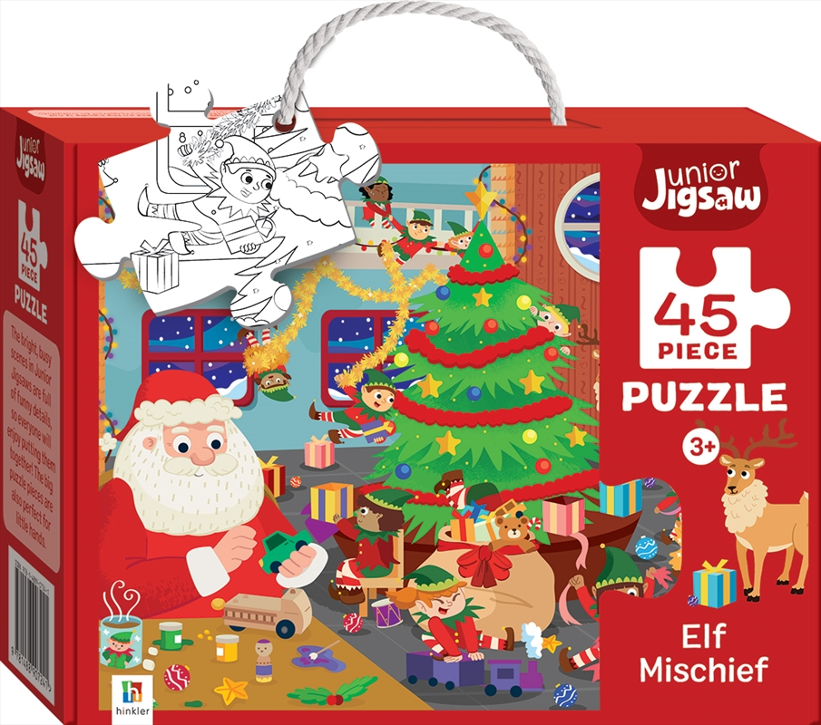 Junior Jigsaw - Elf Mischief 45 Piece Puzzle | Merchandise