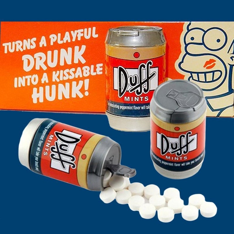 Simpsons Duff Beer Can Mints | Miscellaneous
