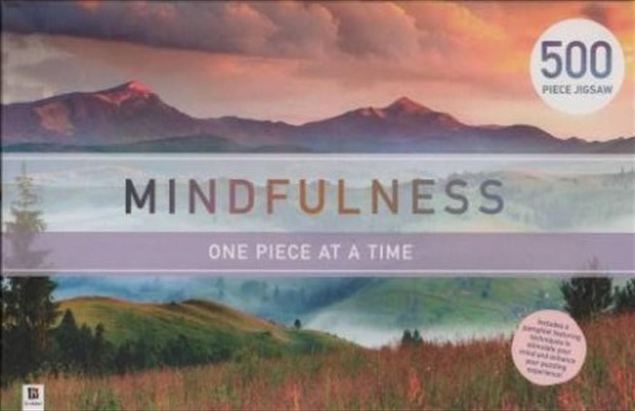 Mountains - Mindfulness 500 Piece Puzzle | Merchandise