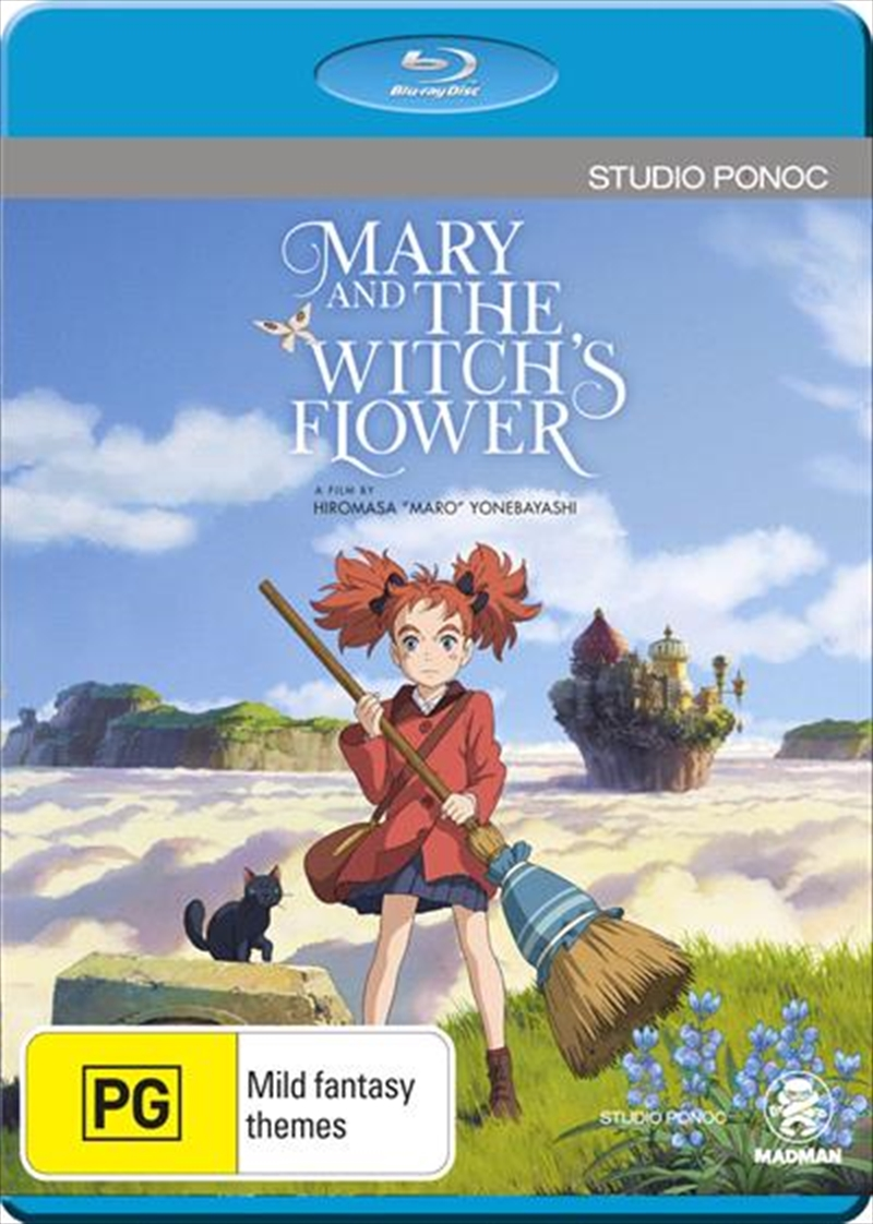 Mary And The Witch's Flower | Blu-ray