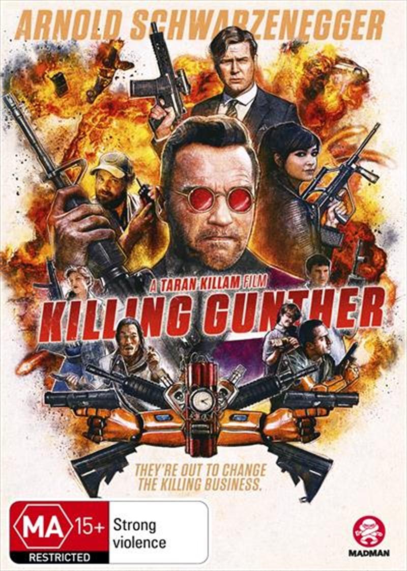 Killing Gunther   DVD