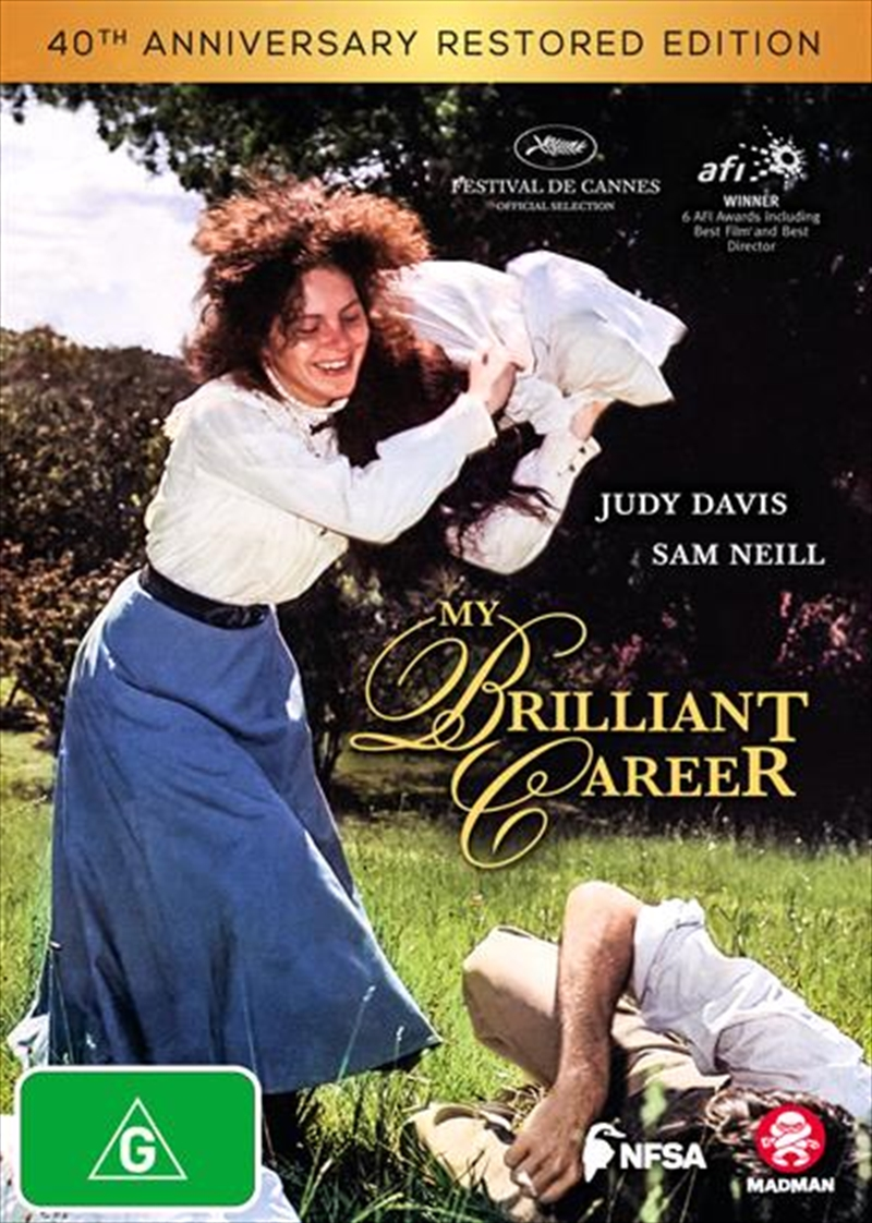My Brilliant Career - 40th Anniversary Edition | Restored | DVD