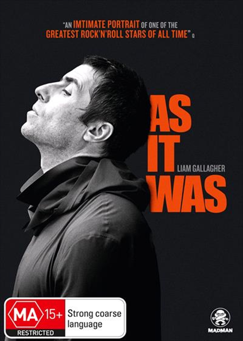 Liam Gallagher - As It Was | DVD