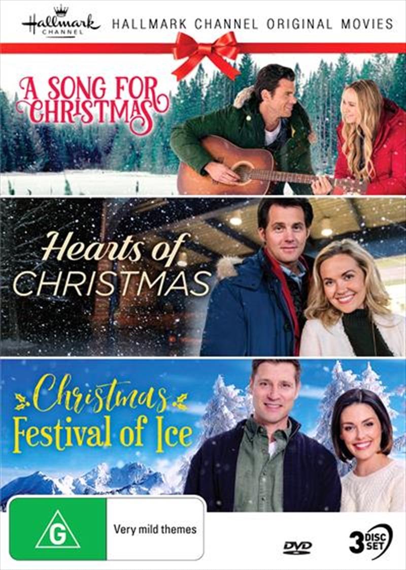 Hallmark Christmas - A Song For Christmas / Hearts Of Christmas / Christmas Festival Of Ice - Collec | DVD