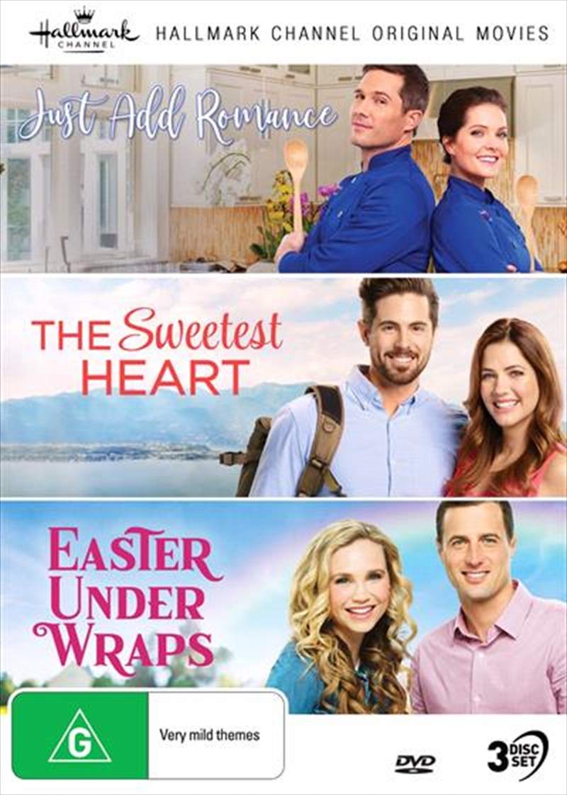 Hallmark - Just Add Romance / Sweetest Heart / Easter Under Wraps - Collection 10 | DVD