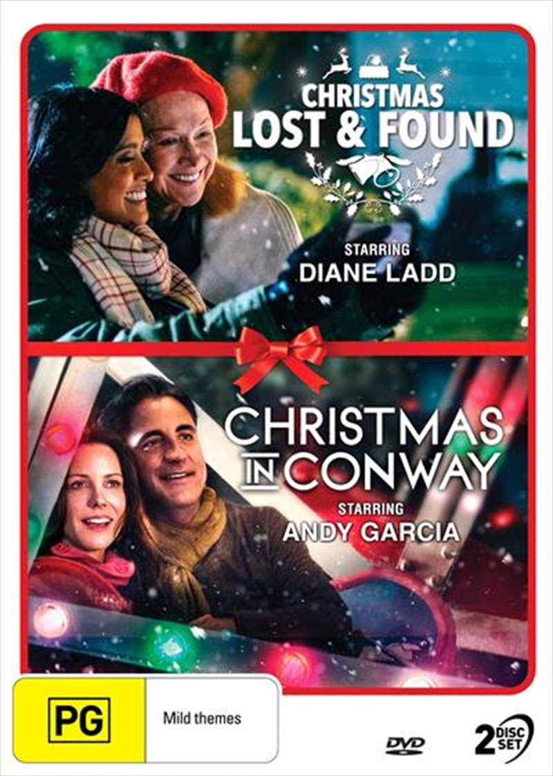 Christmas Lost And Found / Christmas In Conway | Christmas Collection Double Pack | DVD