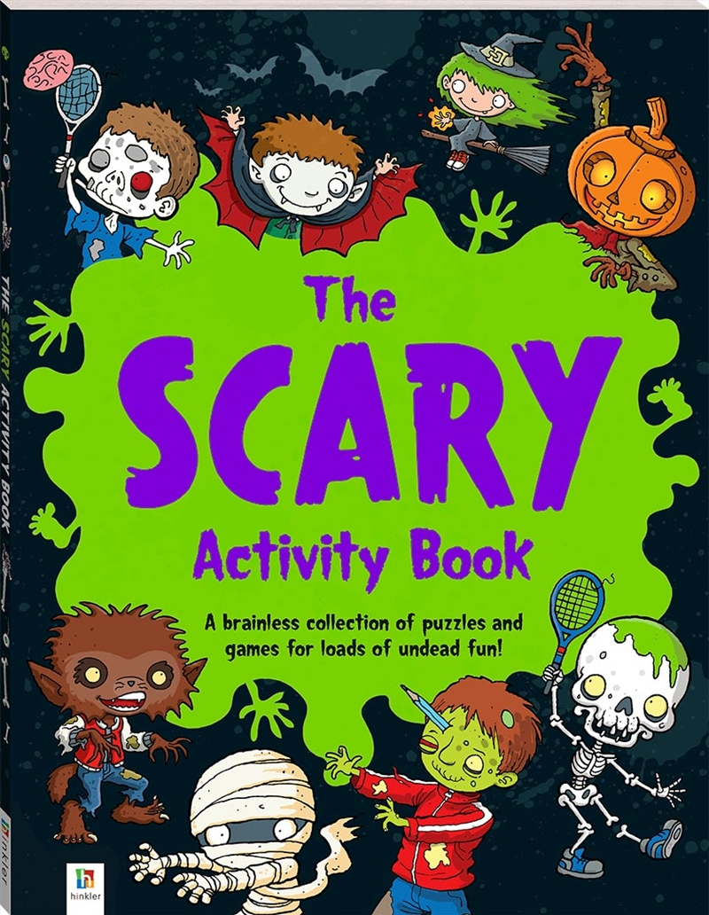Scary Activity Book, The | Books