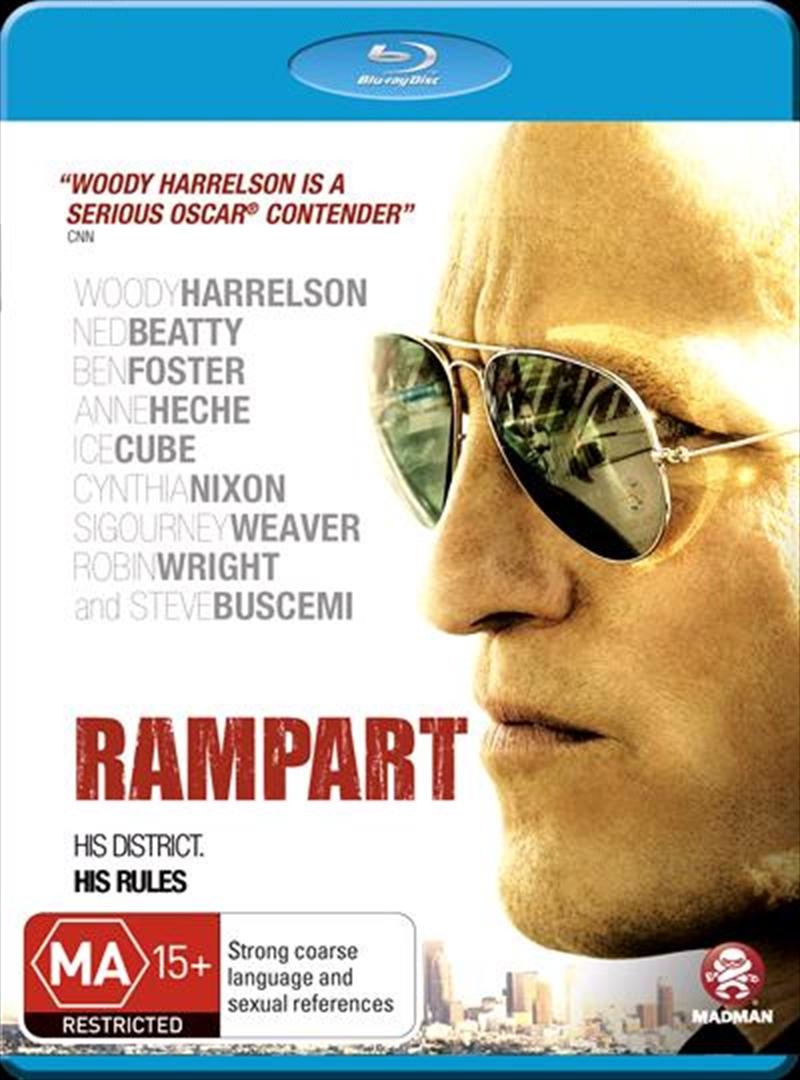 Rampart   Blu-ray