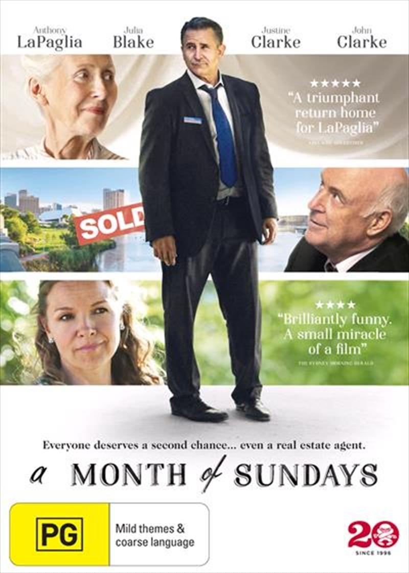 A Month Of Sundays | DVD