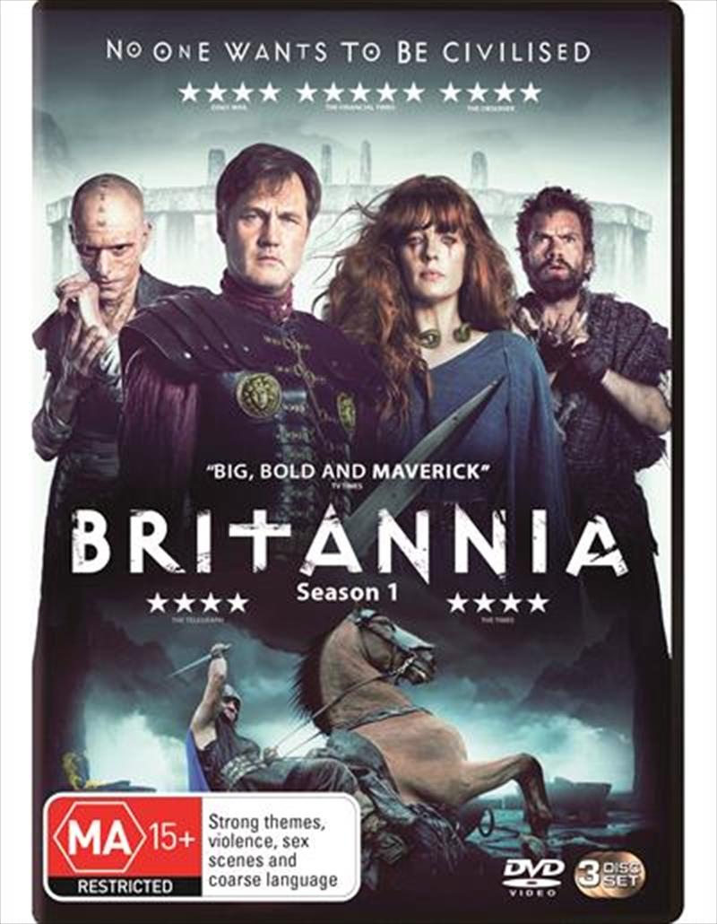 Britannia - Season 1   DVD