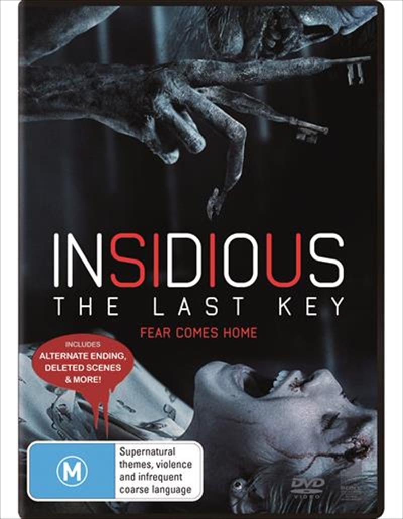 Insidious - The Last Key | DVD