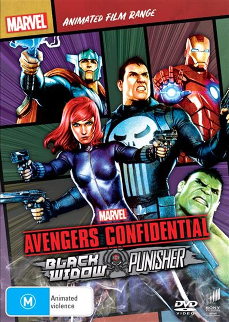 Avengers Confidential - Black Widow and Punisher | Marvel Feature Range | DVD