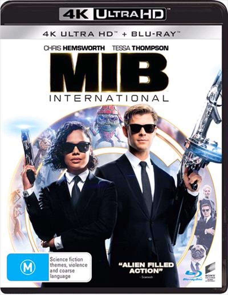 Men In Black - International   Blu-ray + UHD   UHD