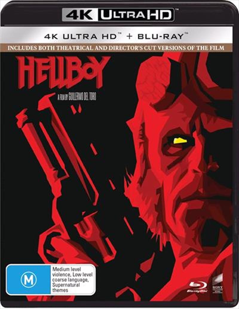 Hellboy   Blu-ray + UHD   UHD