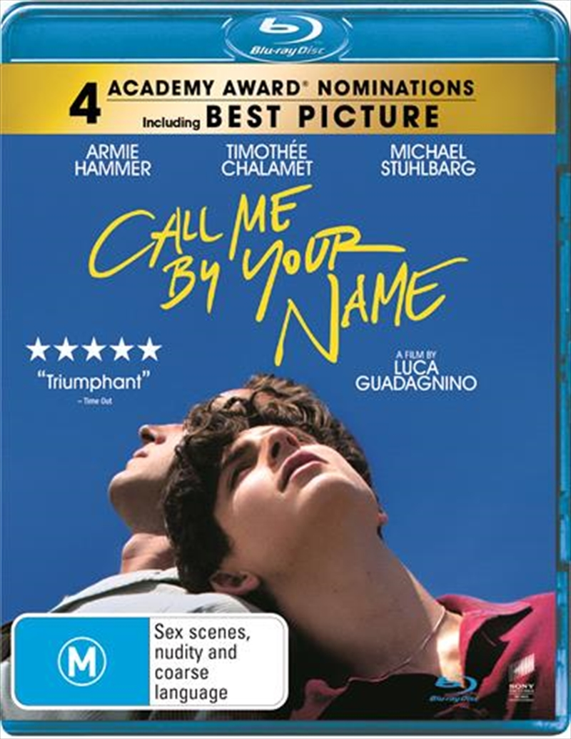 Call Me By Your Name | Blu-ray