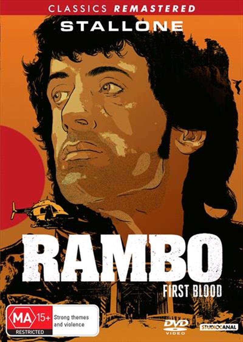 Rambo - First Blood   DVD