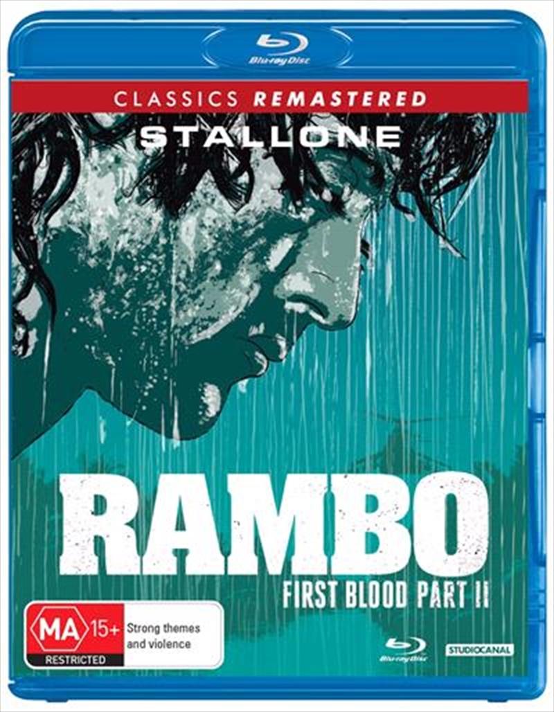 Rambo - First Blood II   Blu-ray