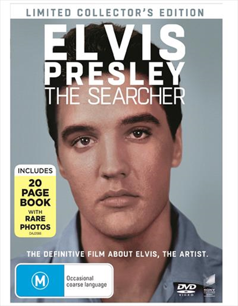 Elvis Presley - The Searcher - Limited Collector's Edition   Digibook   DVD