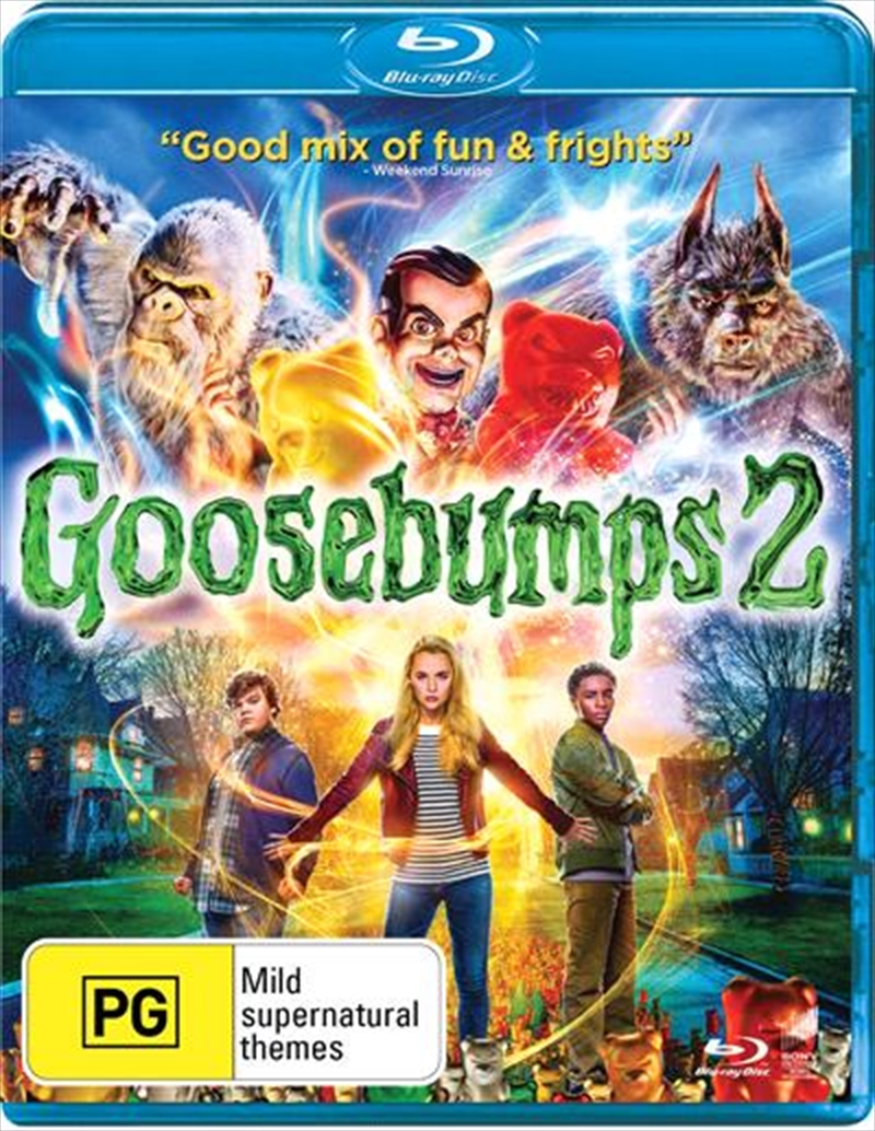 Goosebumps 2 - Haunted Halloween | Blu-ray