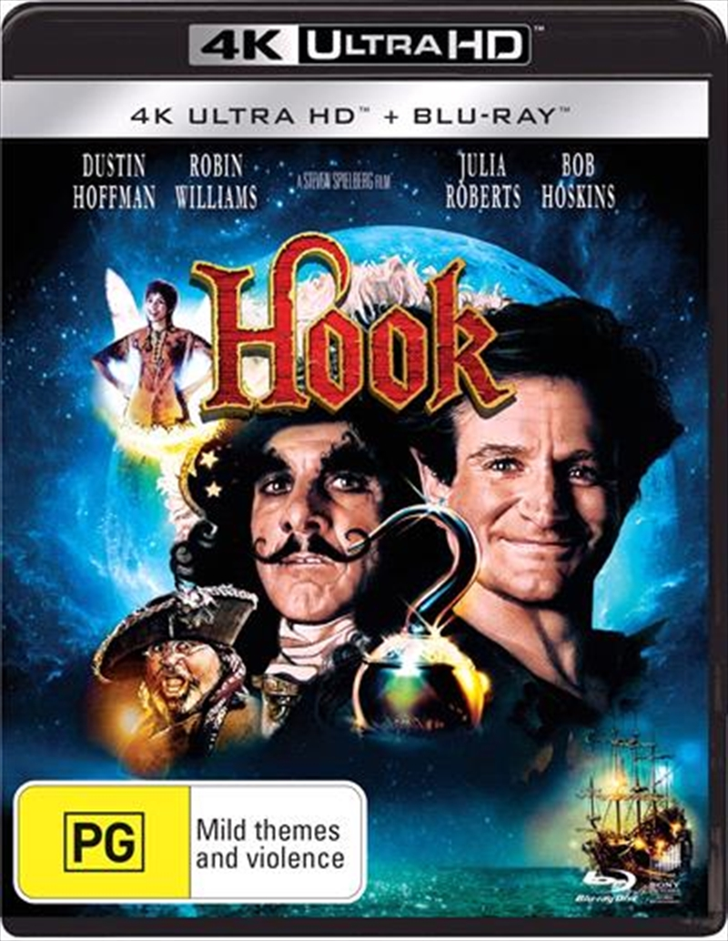 Hook   Blu-ray + UHD   UHD